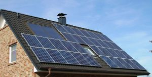 Solar Panels installed on roof of a SERSEV